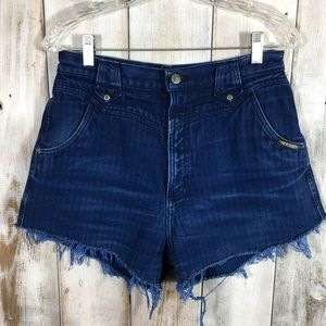 Vintage High Waisted Rockies Cut Offs Shorts 30/11